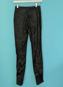 Maison Margiela leather leggings in VGUC